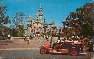 Postcard Modern Sleeping Beauty Castle Gateway to Fantasyland