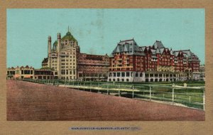 Atlantic City, NJ, Marlborough-Blenheim Hotel, Undivided Vintage Postcard g2624