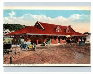 Connecticut  Putnam ,  N.Y.N.H. & H railroad Station