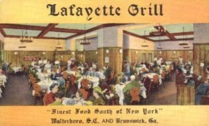 Lafayette Grill Brunswick, GA, USA Unused
