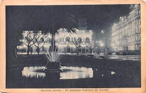 Buenos Aires Argentina El antiguo Cabildo de Noche Buenos Aires El antiguo Ca...