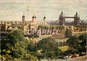 Modern Postcard The Tower of London