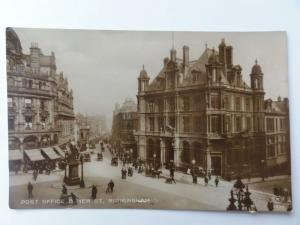 Birmingham NEW STREET &POST OFFICE c1911 RP by E.A.S. & Co. 0234