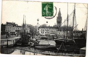 CPA DUNKERQUE - L'Entrée du Bassin (137209)