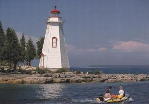 Little Tub Lighthouse, Bruce Peninsula, Tobermory, Lake Huron, Ontario, Canad...