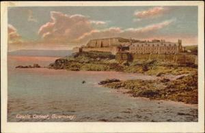 channel islands, GUERNSEY, Castle Cornet (1910s)