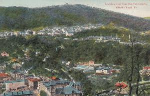 MAUCH CHUNK , Pennsylvania, 1900-10s ; Looking West from Bear Mountain