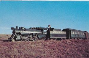 SANTA CLAUS LAND RAILROAD, Indiana, 1940-60s; Miniature Train on Tracks