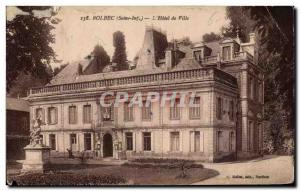 Bolbec - L & # 39Hotel City - Old Postcard