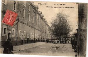 CPA Stenay - Cour du quartier d'artillerie (240833)