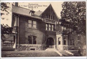 Headquarters, NY Soldiers & Sailors Home, Bath NY