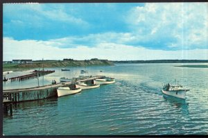 Prince Edward Island Boats in Harbour deep sea fishing COVEHEAD HARBOUR pm1965 C