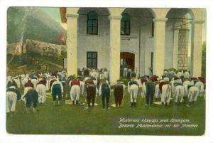 Bosanski Brod,  Bosnia and Herzegovina, 00-10s Muslims at prayer