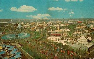 New York World's Fair 1964-1965 Unisphere Aerial View