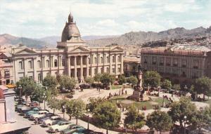 Bolivia - Plaza Murillo , LA PAZ , 50-60s