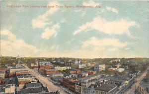 8646 Aerial view Montgomery AL looking east from Court Square