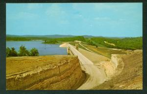 Beaver Dam and Lake Arkansas Ozarks Vintage Postcard