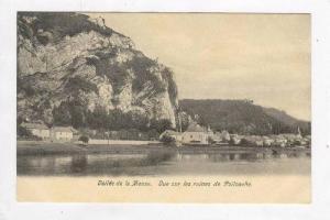 Vallee de la Meuse, Belgium, 00-10s Vue sur les ruines de Poilvache