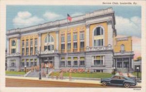 Kentucky Louisville Service Club Curteich