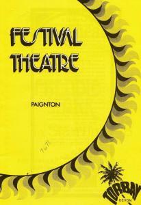Freddie Starr Lyn Paul The New Seekers Paignton Devon Theatre Programme