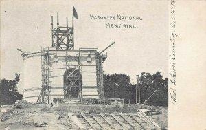 LP58    Ohio Postcard: Canton, President  McKinley Memorial, Construction