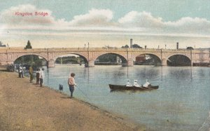 Kingston upon Thames , London , England , 1913 ; Bridge