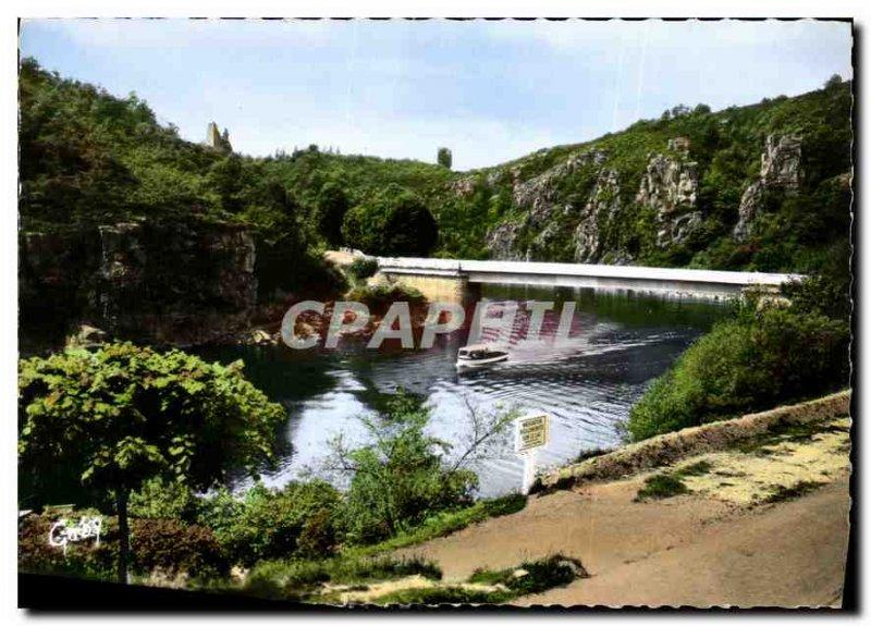 Postcard Modern Art Creuse Crozant Creuse Bridge Creuse XII and XIII S ruins