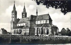Worms a Rhein Germany, Deutschland Postcard Liebfrauenkirche mit Weinberg Wor...