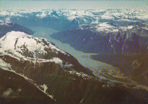 Canada British Columbia Stewart Aerial View