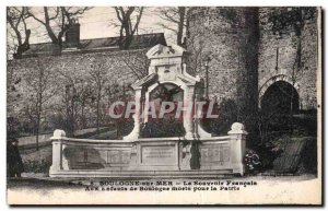 Old Postcard Boulogne sur Mer French Memories To children Boulogne died for t...
