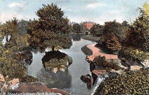 St Stephen's Green Park Dublin Ireland Unused
