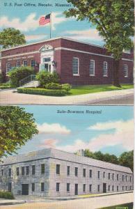 Post Office & Sale-Bowman Hospital , NEOSHO , Missouri , 30-40s