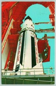 Kennedy Space Center Florida~NASA~Saturn~Pre-Launch Checkout~1970s