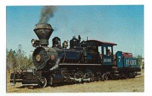 Reader Railroad No. 7 Wood Burning Praire Locomotive Near Camden & Prescott AR