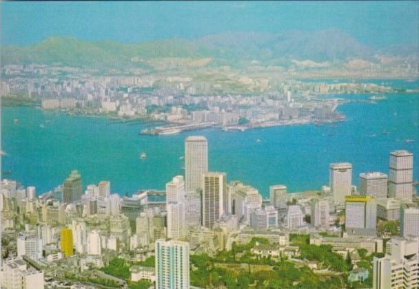 Hong Kong & Kowloon From The Peak