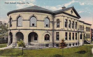 Pennsylvania Carnegie High School 1916
