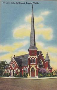 First Methodist Church Tampa Florida Curteich