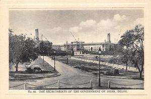 Delhi India Secretariats of The Government Postcard