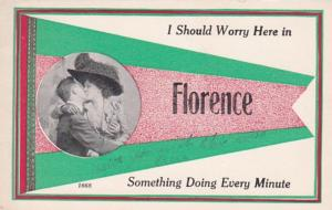 Montana Florence I Should Worry Here Pennant Series