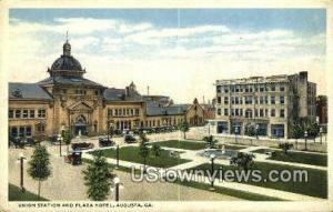 Union Station & Plaza Hotel Augusta GA Unused