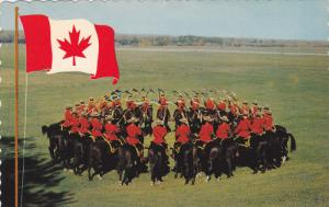 Royal Canadian Mounted Police, Canada Flag,  40-60s