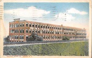 Guns Factories Gun Factory Post Card Savage Arms Co Utica, New York, USA 1916