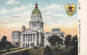 State Capitol Building Springfield Illinois 1908
