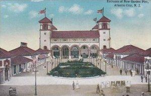 New Jersey Atlantic City Entrance Of New Garden Pier