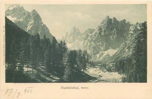Fischleinthal Sexten Sesto Italia Italy 1900