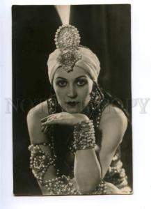 151107 VECHESLOVA Russia BALLET Dancer BELLY DANCER old PHOTO