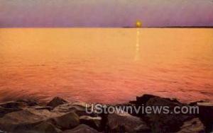 Point Lighthouse Cape May NJ Writing On Back