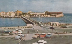 CUARACAO , Netherland Antilles , 50-60s ; Queen Emma Pontoon Bridge