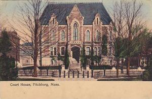 Exterior, Court House, Fitchburg, Massachusetts,  00-10s