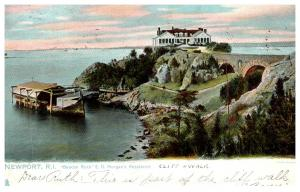 Rhode Island  Newport ,  E.D. Morhagn Resiidence , Tuck's no.1073